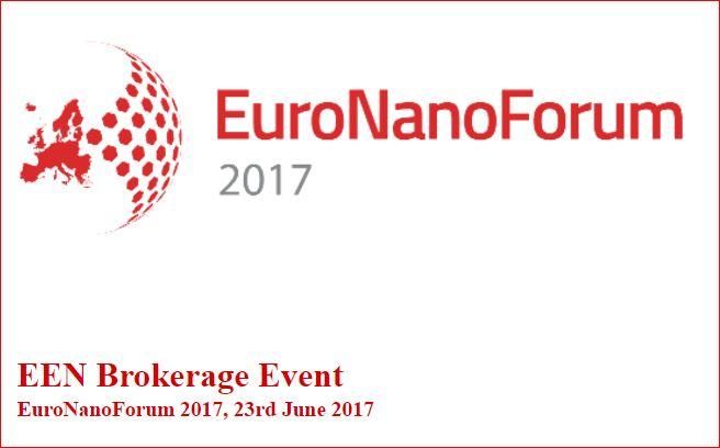 Euro Nano Forum, 21-23 June 2017, Valletta, Malta