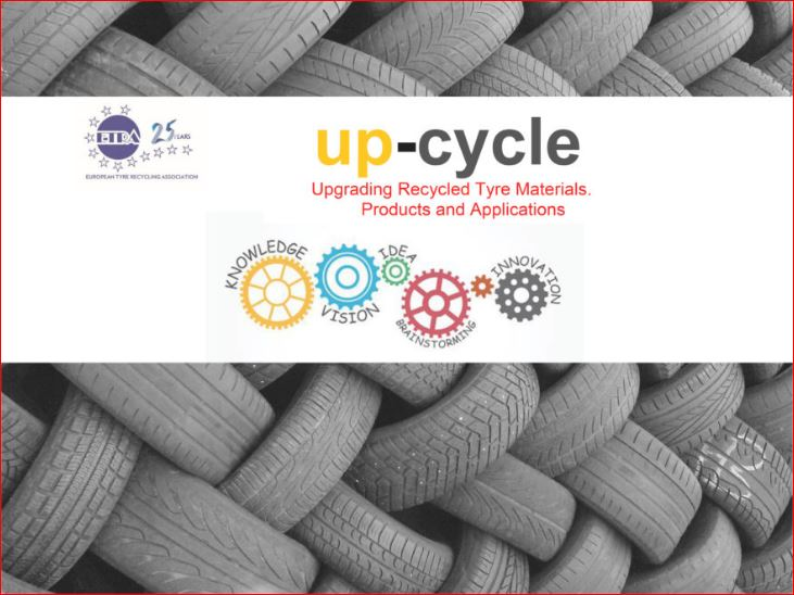 UP-CYCLE UPGRADING RECYCLED TYRE MATERIALS, PRODUCTS AND APPLICATIONS