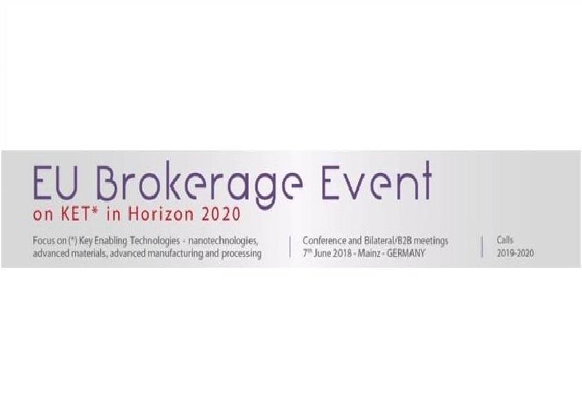 EU Brokerage event on KET in H2020, 7 Giugno 2018, Mainz, Germania
