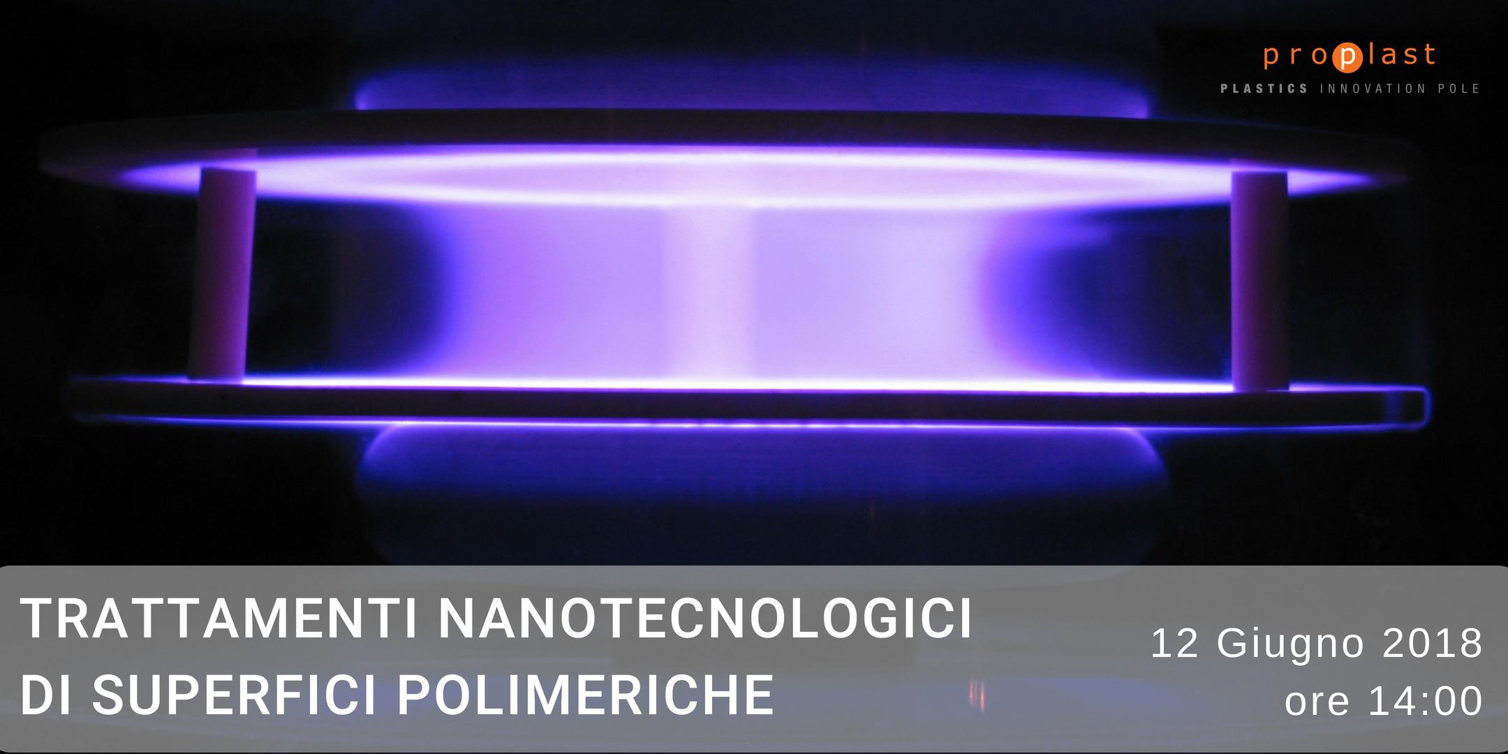Trattamenti nanotecnologici di superfici polimeriche