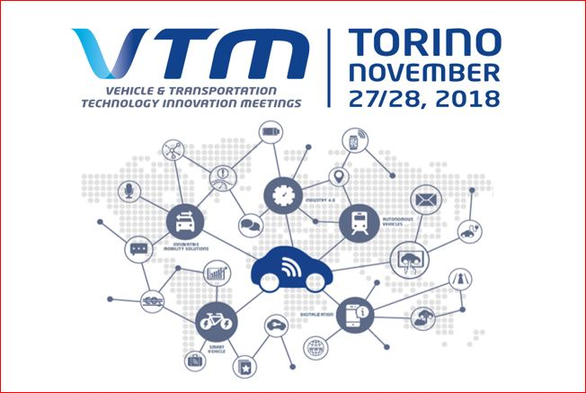 """""""Vehicle and transportation technology innovation meetings"""" – 27-28 November 2018"""
