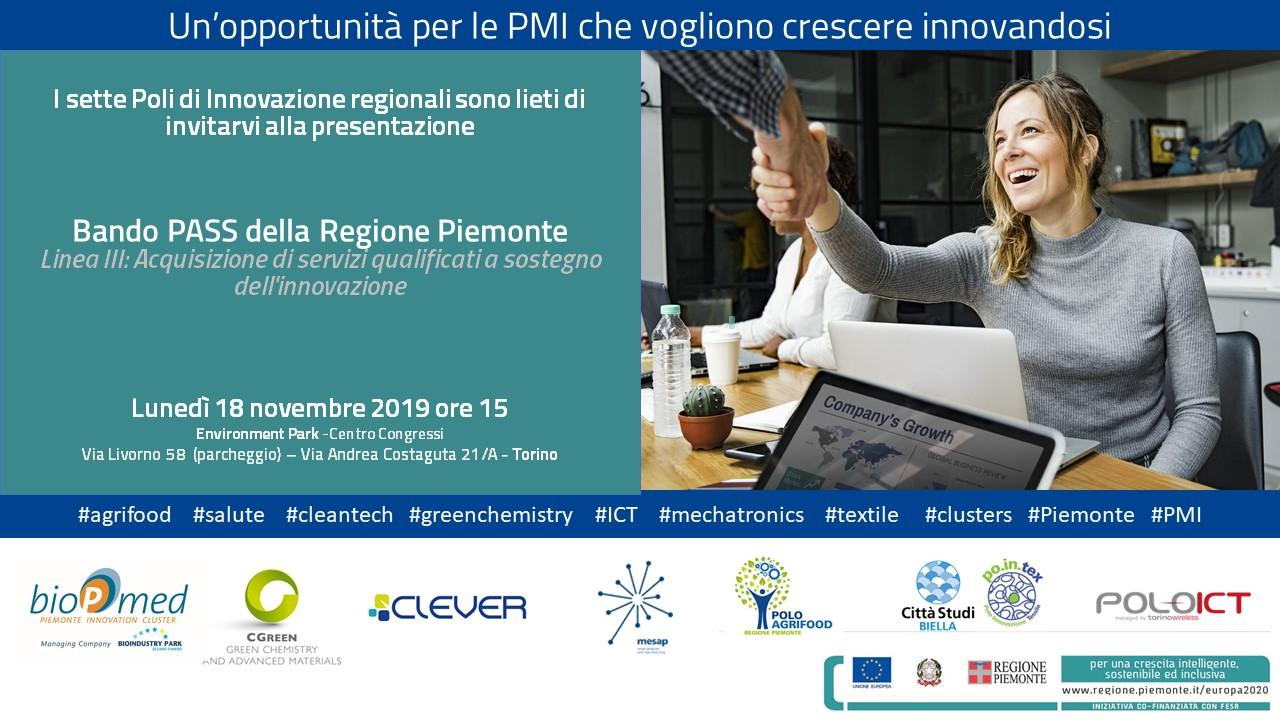 Un'opportunità per le PMI che vogliono crescere innovandosi