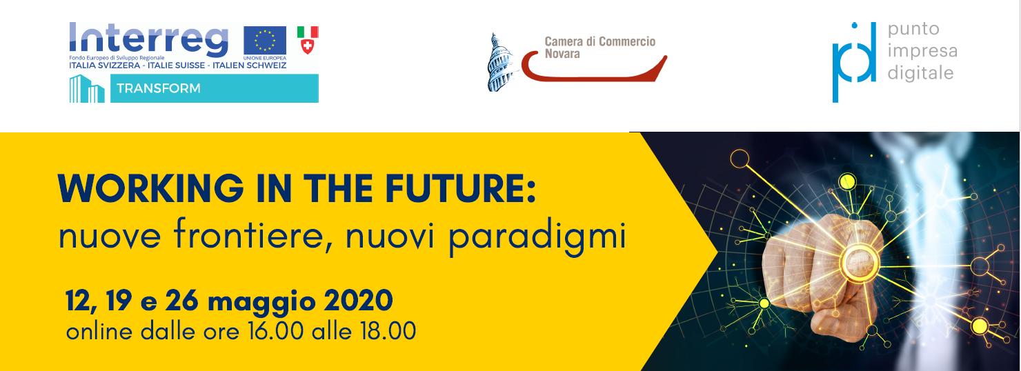 """Ciclo di webinar """"Working in the future: nuove frontiere, nuovi paradigmi"""""""
