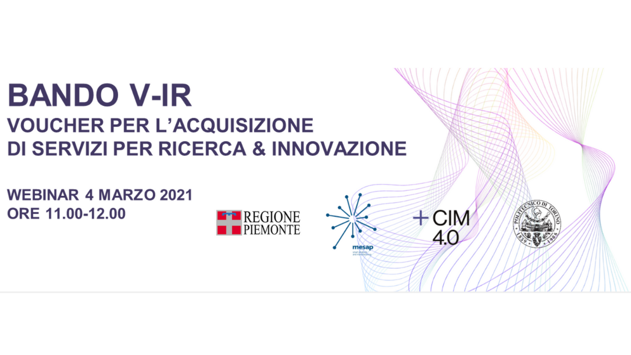Webinar on the opportunities of the V-IR call
